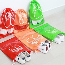 Sacs de rangement pour chaussures 1 pièce   Sacs de rangement pour chaussures en tissu Non tissé, sacs de protection anti-poussière pour femmes et hommes sacs de rangement de chaussures de faisceau de voyage