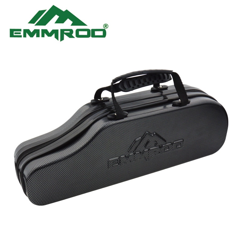 EMMROD Stainless Steel Bait Casting Fishing Rod Ebony handle Portable Boat/Raft Rod Lure Personality Telescopic Fishing Rods FQ enlarge