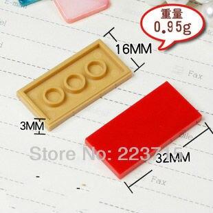 ¡Envío gratis! 87079 50 Uds. * baldosa plana 2x4 * ladrillos para iluminar bloque DIY, Compatible con partículas de ensamblaje