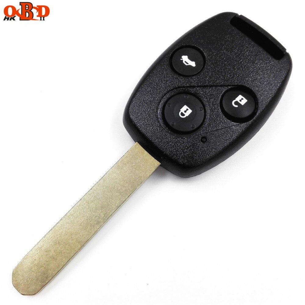HKOBDII Gute Qualität Für Honda alt ACCORD 3 Tasten für 2,4 07 ACCORD Remote Key 315MHZ mit ID48/ 8E chip