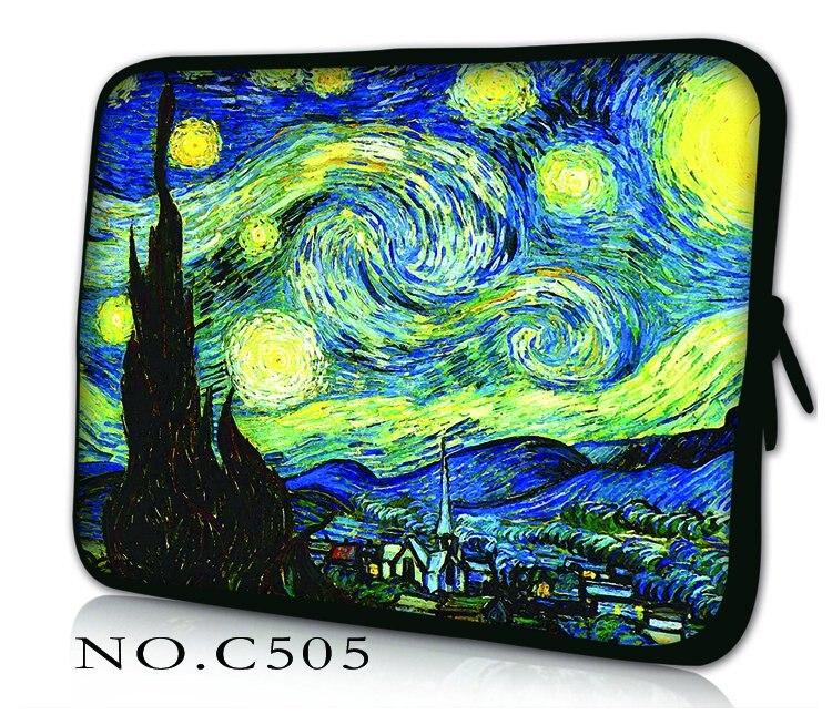 Van Gogh Laptopa Notebook Bag Pokrowiec na Macbook Air 11 13 12 15 17 13.3 15.4 Pro Retina Unisex Liner Rękawem dla Xiaomi powietrza