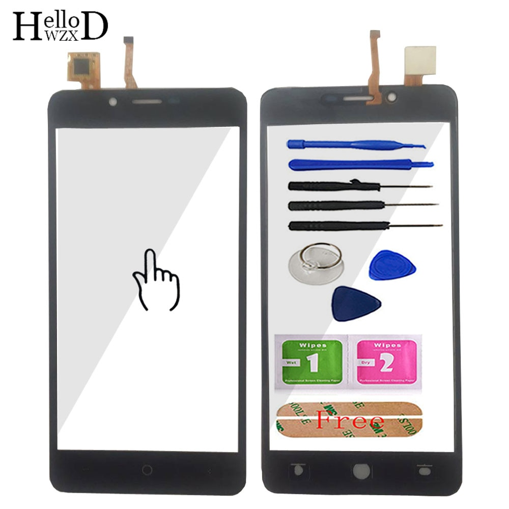 HelloWZXD Mobile Phone Touch Panel Touchscreen Front Screen Glass Digitizer Panel Sensor For Leagoo