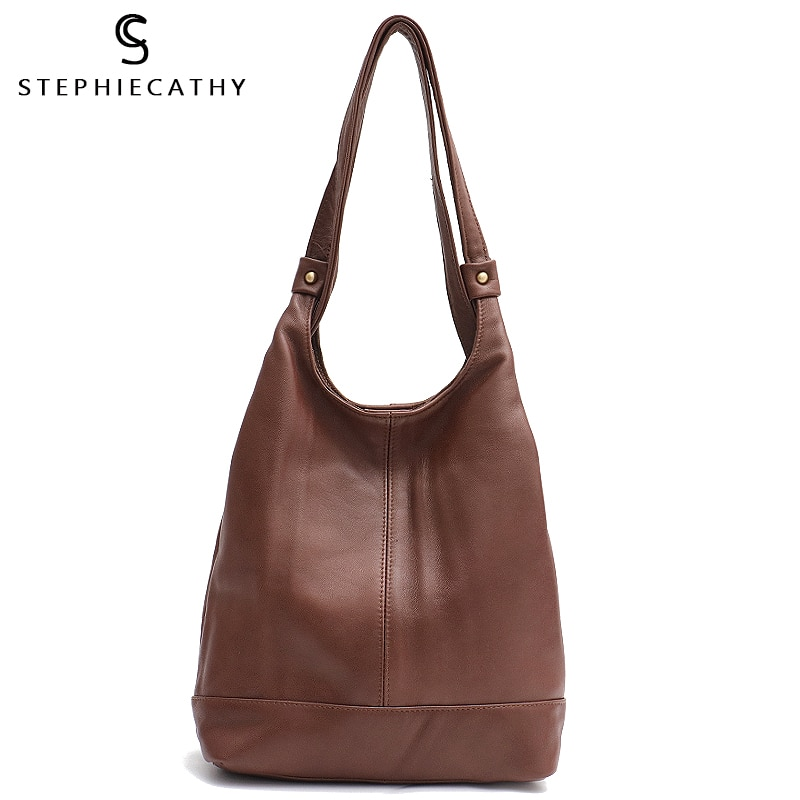 Sc 2019 marca retro sacos de ombro couro real para as mulheres do vintage mochila de couro macio meninas dia pacote saco escola senhoras