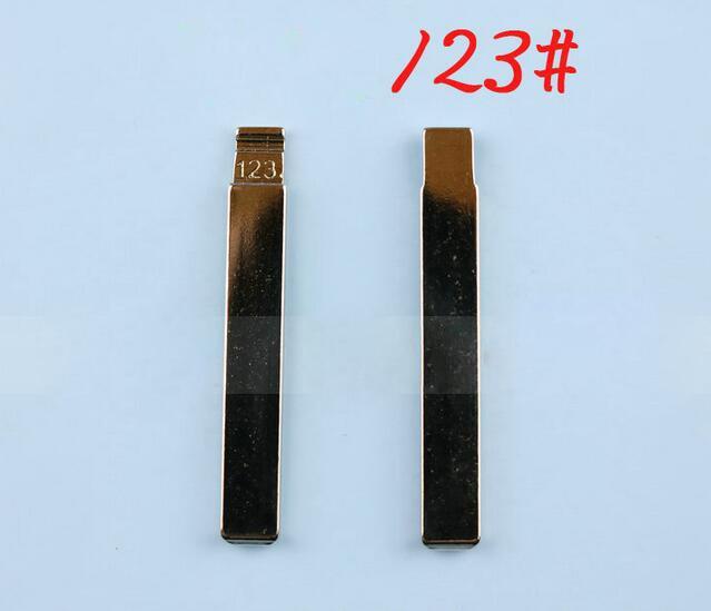 123# Modified Replacement Flip Remote Key Blade Car Key blank For Toyota Corolla Flip Remote Key