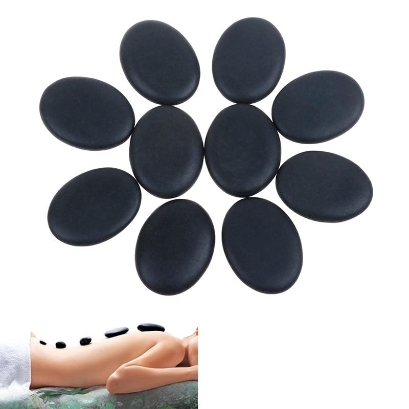 2 шт/6 шт/8 шт/10 шт красивые камни массаж спа рок базальтовый камень из натуральной лавы Лидер продаж