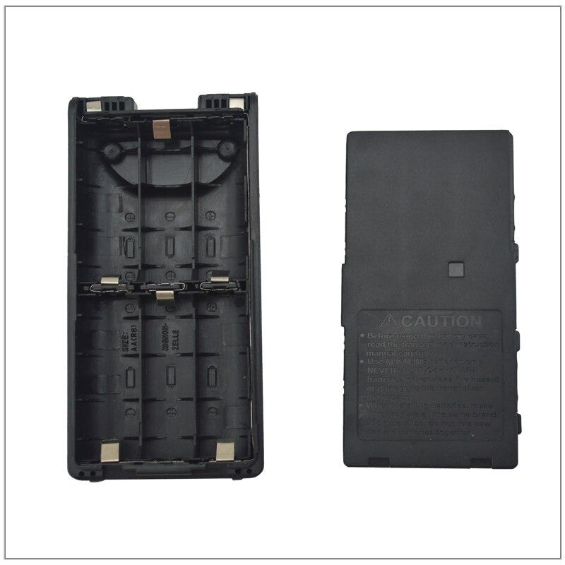 2 uds BP-208N 6 * AA caja de batería alcalina para ICOM IC-V82, IC-V8, IC-U82, IC-A24, IC-A6, IC-T3H, IC-F3GT, IC-F4GS, IC-F11, IC-F21, IC-F40GT,