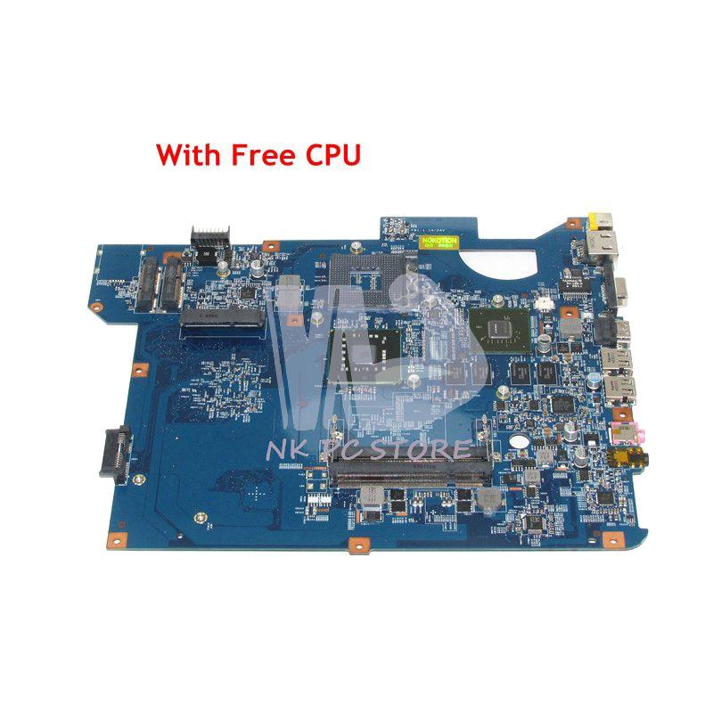 NOKOTION MB.WBN01.001 MBWBN01001 For Packard Bell NV54 Laptop Motherboard 48.4BU01.01N GM45 DDR2 G105M GPU Free CPU