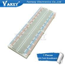 Platine de prototypage 830 Point sans soudure PCB planche à pain MB-102 MB102 Test développer bricolage