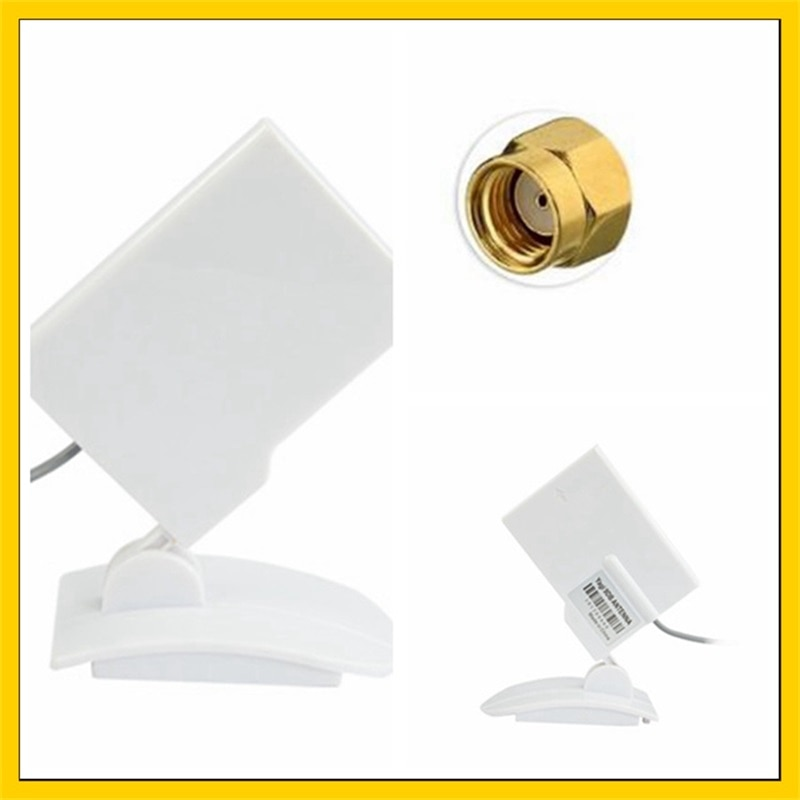 5PCS 2.4g 9DBI wifi router antenna  RP-SMA male connector (inner hole) omni antenna enlarge