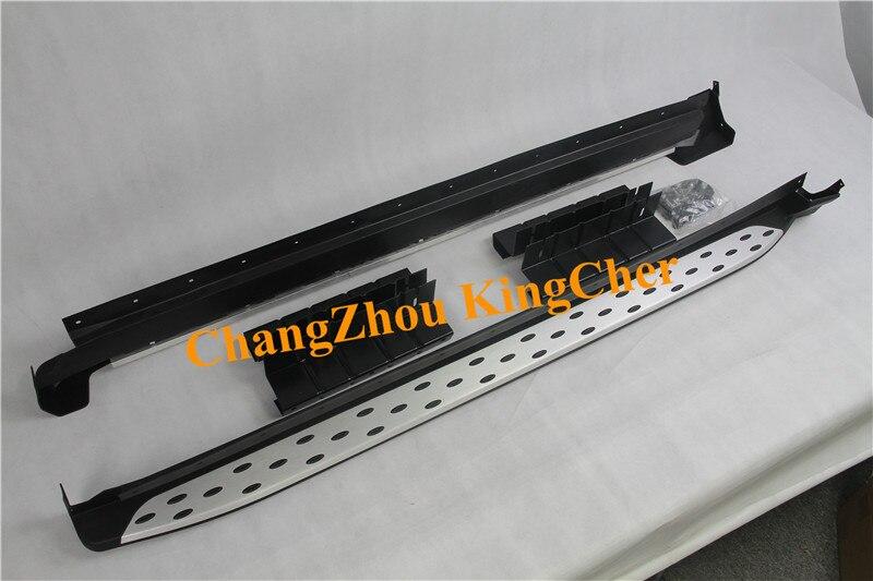 ¡Nuevo estilo! Accesorios de aluminio estribo lateral nerf bar para LEXUS NX 200 300h 200T 2015-2020