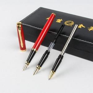 3 in 1 fountain pen with gift box Wingsung iridium calligraphy METAL NEW business office gift Bend nib double nib fountain pen