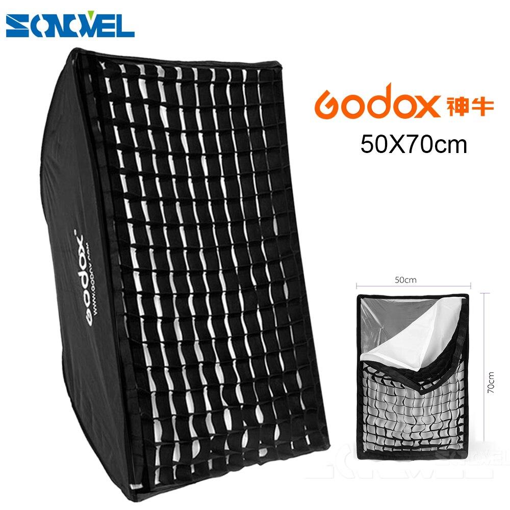 """GODOX 50x70 cm/50*70 cm/20 """"* 27"""" Beweglicher Platz Dach Foto Softbox Reflektor Für Blitz Speedlite"""