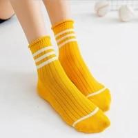 2018 lynmiss socks women college wind womens casual cute new sock female socks comfortable