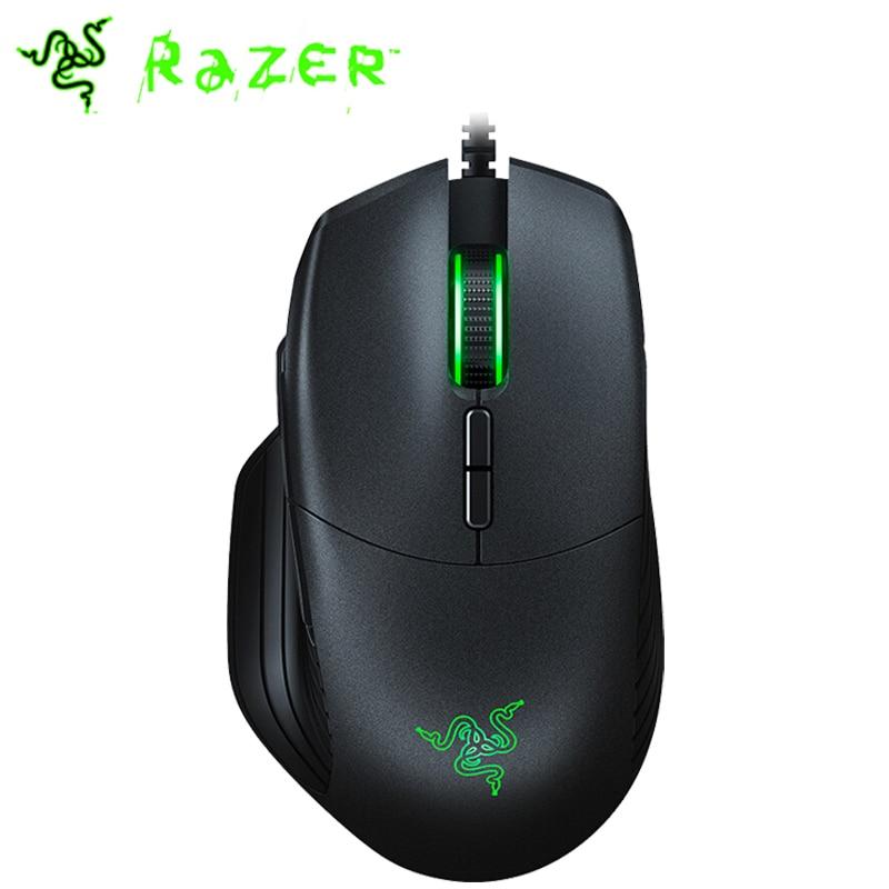 Razer Basilisk Wired Gaming Mouse 6400dpi/16000DPI RGB 5G Optical Sensor Removable DPI Clutch Scroll Resistance 8Buttons Black