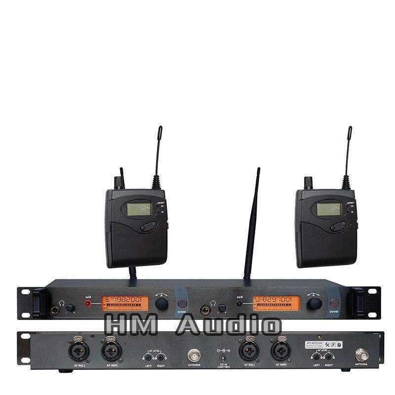 Беспроводная система в ушах SR2050, двойной передатчик, профессиональный мониторинг для сценической производительности