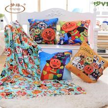 Anpanman-couvertures oreiller bactériennes pour garçon   Couverture chaude Shou Wu triple de dessin animé, cadeaux danniversaire, cadeaux de noël