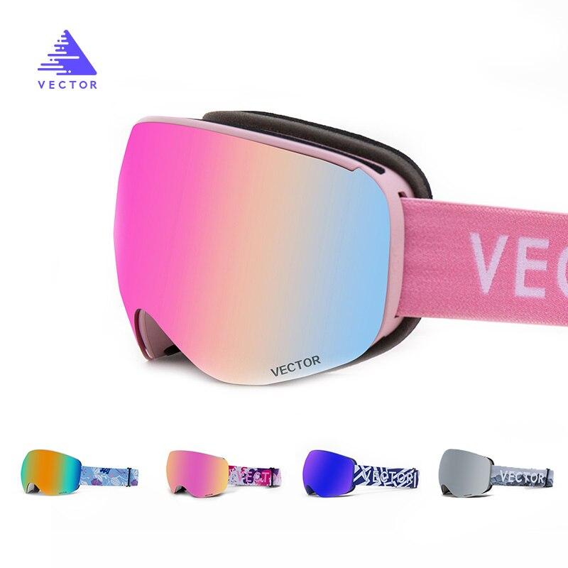 Óculos de esqui feminino 2020 venda quente men ski neve goggles100 % uv400 proteção anti-nevoeiro snowboard óculos de esqui equipamento esporte