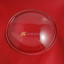 Réflecteur de lentille à 108mm   Collimateur Transparent à haute puissance pour lentille 200 degrés 5-90 degrés pour le bricolage 50-w