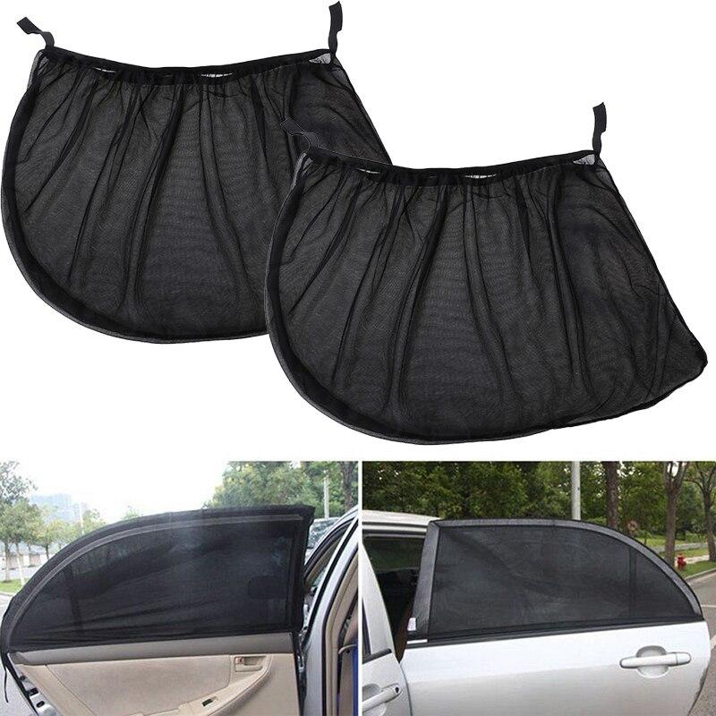 2Pcs Car Window Cover Sunshade Curtain for Fiat 500 Opel Insignia Vectra c Suzuki Swift Sx4 Hyundai Ix35 Creta Nissan