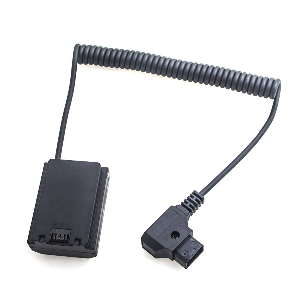 FOTGA محول الطاقة ارشادية الحبل كابل لسوني NP-FZ100 الدمية البطارية موصل إلى D-الحنفية ل A7III A7RIII A7SIII A9