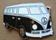 CARAVAN CAMPER VAN BUS VW PEACE SIGN CAR BELT BUCKLE Free shipping