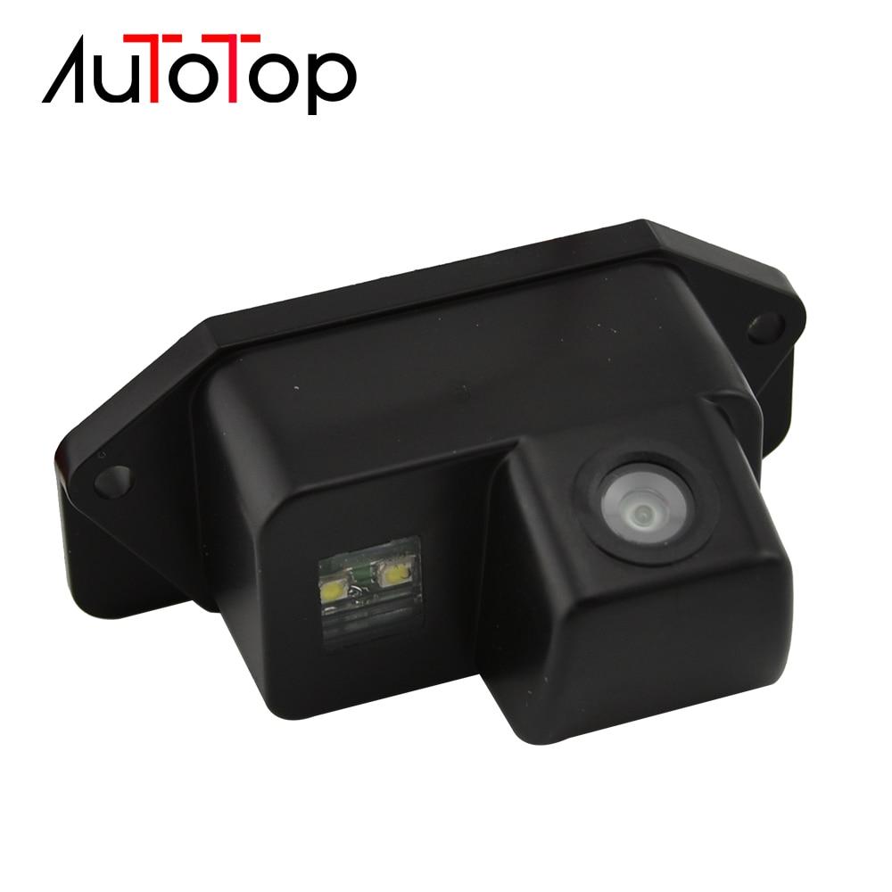 AUTOTOP Car Rear View Backup Camera Fit for Mitsubishi Lancer EX 2008-2015 Backup Reverse Parking Car Reverse Camera