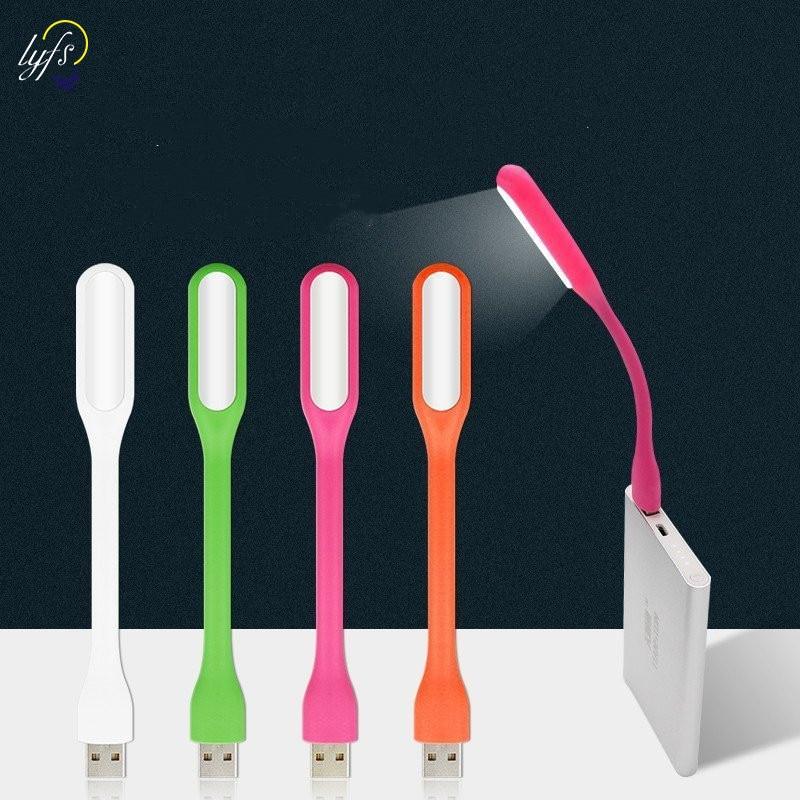 Портативный светодиодный USB лампа мини-шланг лампа для чтения книг защита глаз внешний аккумулятор для компьютера ноутбука