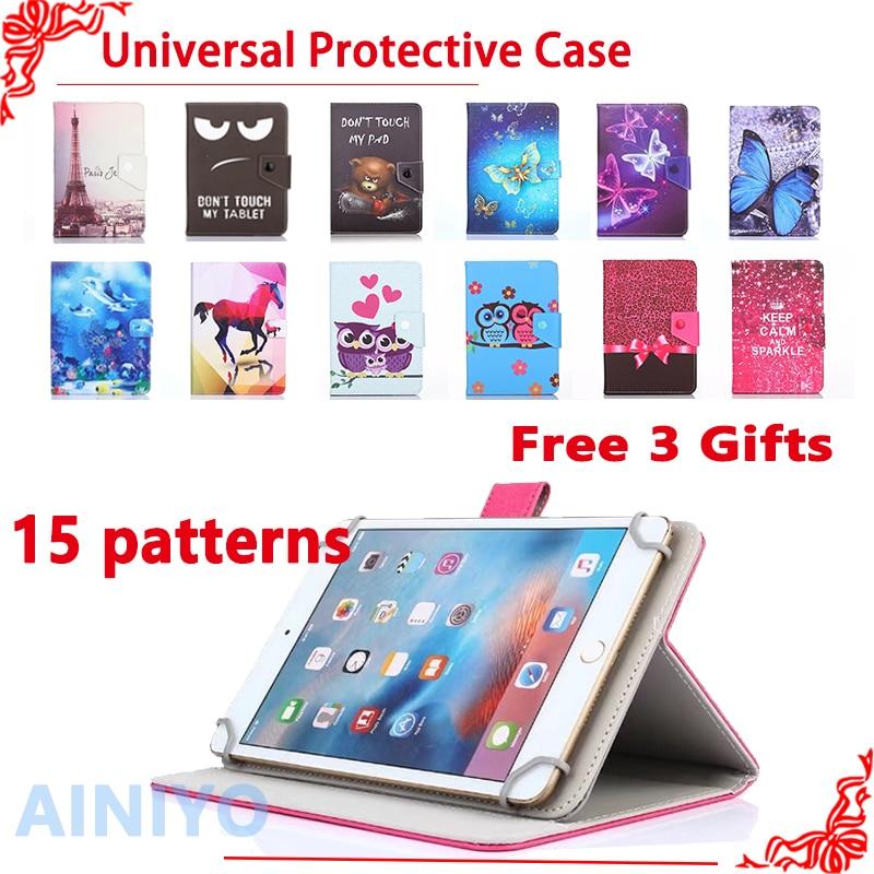 "Wize Universal moda Dos Desenhos Animados Caso para Prestigio MultiPad 3057/3067/3087/3797 3G 7 ""tablet pc Capa Protetora + free 3 presentes"