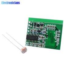 Microwave Body Board Light Control LED Lamp Home Switch Radar Human Active Sensor Module Micro Wave High Frequency Antenna MCU