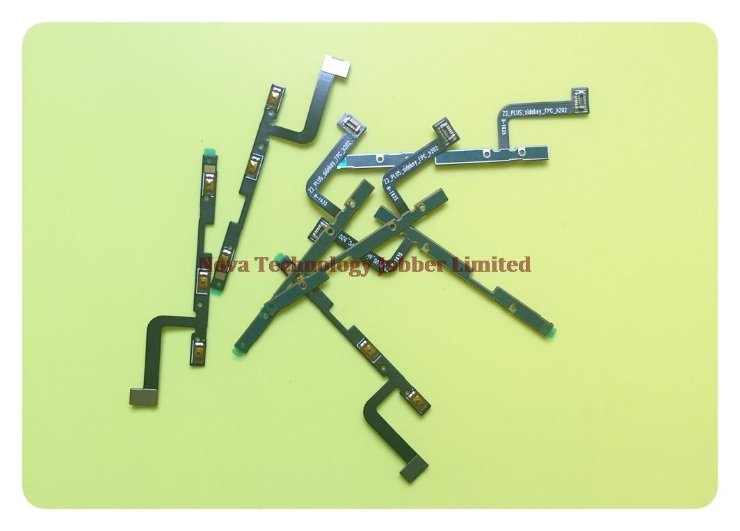 Wyieno 10 unids/lote para Lenovo Z2 botón de encendido cinta para ZUK Z2 Plus interruptor on/off piezas de reparación de cable Flex