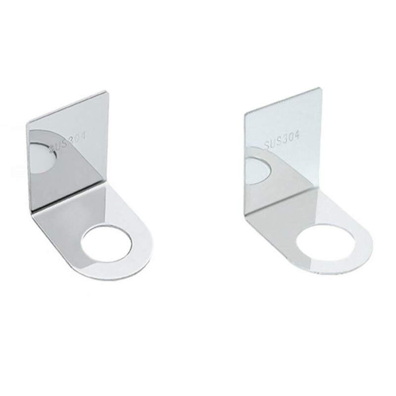 Multi-función de cuarto de baño de acero inoxidable Rack estante de baño libre de colgando de la pared de botella de Gel de ducha Rack sin uñas