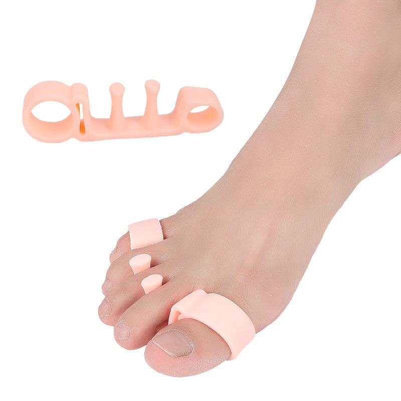 2pcs=1Pair Toe Separator Hallux Valgus Bones Overlapping Toe Correcter Ortopedica Corrective Insole