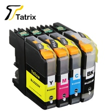 4PK LC233 LC231 tinta reiniciar el chip del cartucho Compatible para Hermano DCP-J562DW MFC-J480DW J680DW J880DW impresora