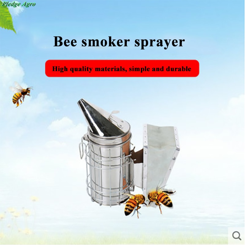 Bee Smoke Transmitter Manual Kit Beekeeping Tools Tool Apiculture fumoir inox smokers abelhas e apicultura rook fakkels