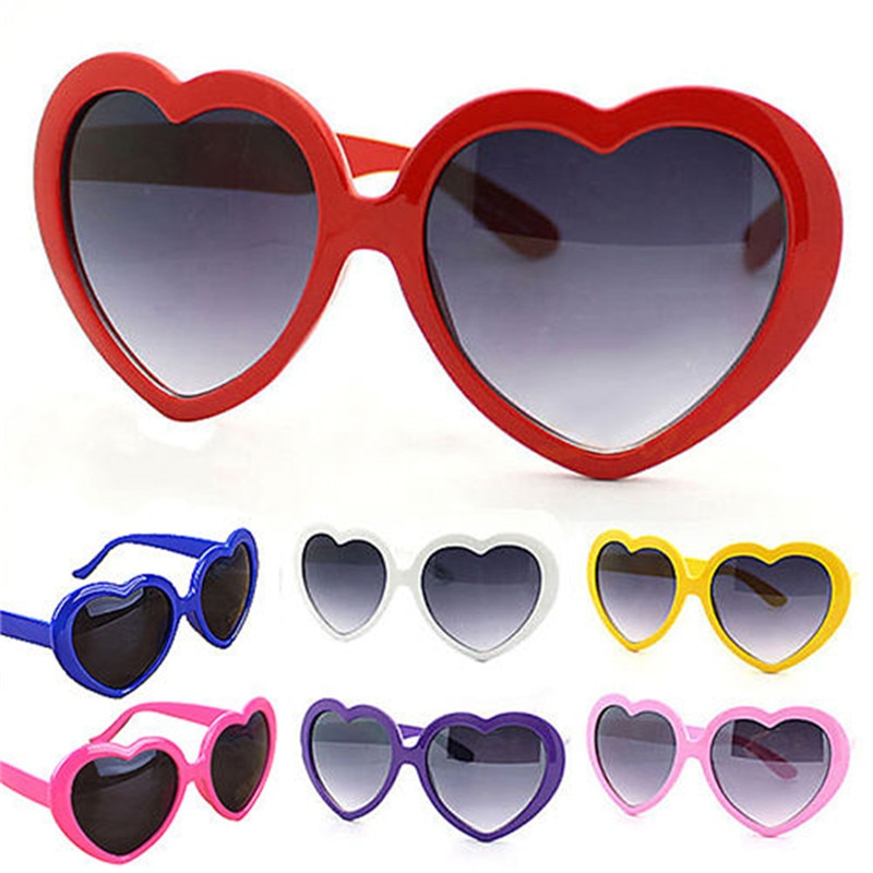 1pc Love Heart Sunglasses Women Rimless Spectacles Female Lolita Hearts Shape Eyeglasses Ladies Glasses of a Sun
