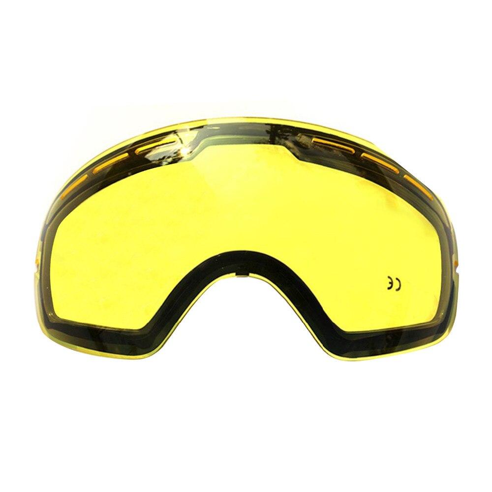 Doble resplandor Polarizado lentes de gafas de Esquí gafas de esquí profesional puede ser utilizado en conjunción con otras gafas envío de la gota