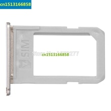 Sim Card Tray For Samsung Galaxy S6 Edge Plus G928 Sim Card Tray Slot Holder Housing Parts silver/gold