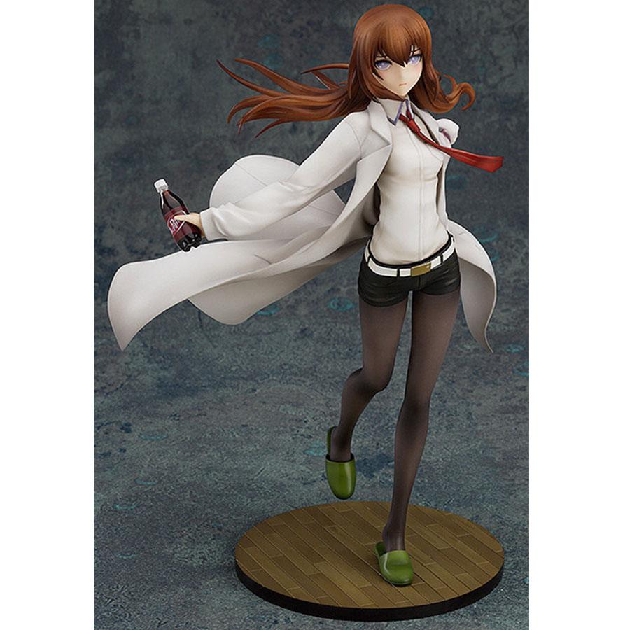 Japanischen anime Steins Tor 21cm Makise Kurisu PVC Action Figure Labor Mitglied 004 1/8 Skala Painted Modell Sammlung Spielzeug