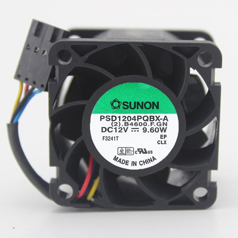 SUNON PSD1204PQBX-A DC12V 9,6 W 4 cables 40x40x28mm para DELL R210 servidor inversor refrigeración ventilador