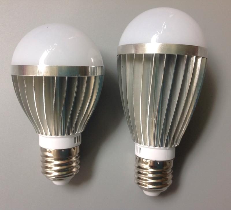 85-265V 5W7W E27 blanco cálido/blanco 110 v/220 v sensor de voz bombilla led para lámpara de detección automática para la iluminación de la habitación del pasillo familiar