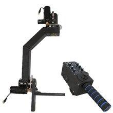 Photographie caméra vidéo potence grue 2 axes cardan avec contrôleur Photo Studio accessoires