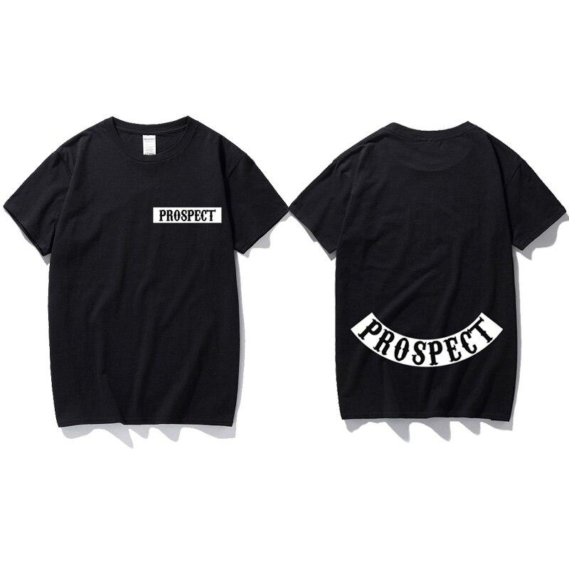 Männer der Aussicht T-Shirt Inspiriert durch Sons of Anarchy TV Motorrad Biker Samcro top baumwolle kurzarm t shirt Geschenk t-shirt