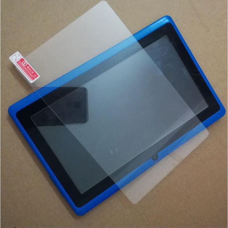 172X105mm protector de vidrio templado para 7 pulgadas tablet 7 pulgadas Q88 allinner A13 A23 A33 ATM7021 ATM7031 tablet