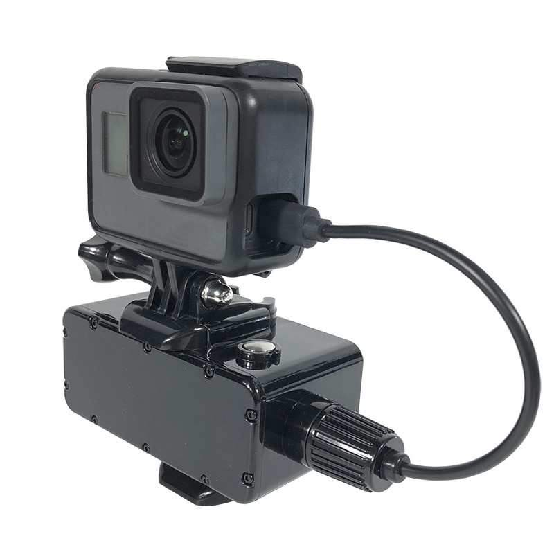 5200mAh Power Bank 30M Waterproof External Battery Bank for GoPro Hero 9/8/7/6/5/4/3+/3 Yi 4K SJCAM Action Camera Accessories