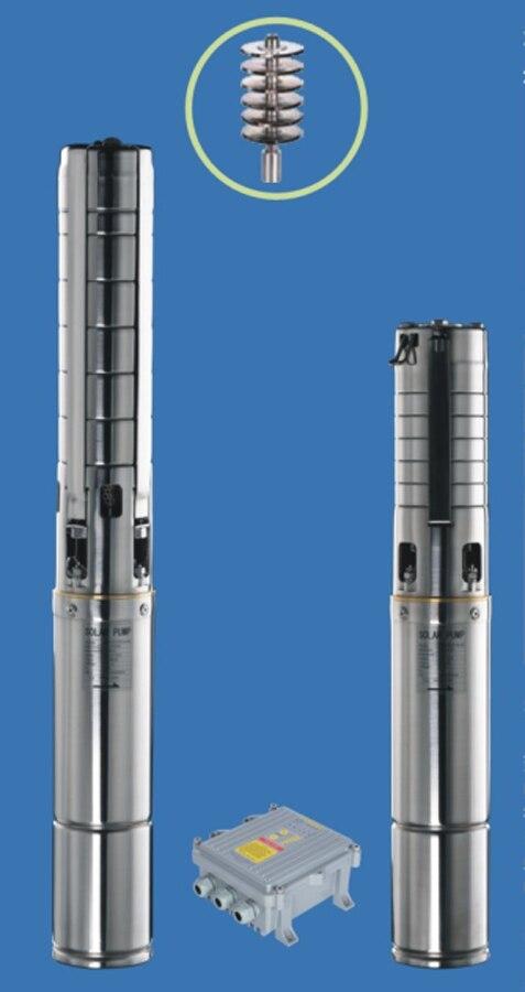 Bomba centrífuga Solar de 4 pulgadas, Bomba De refrigeración sumergible con impulsor de acero inoxidable 4SSC5.2/110-D72/1000, envío gratis, 1000W