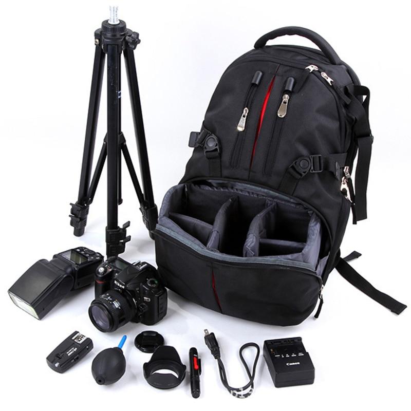 Bolsas de cámara DSLR impermeables mochila bolsa para Nikon Sony Canon bolsa de fotos para cámara y fotografías de viaje al aire libre