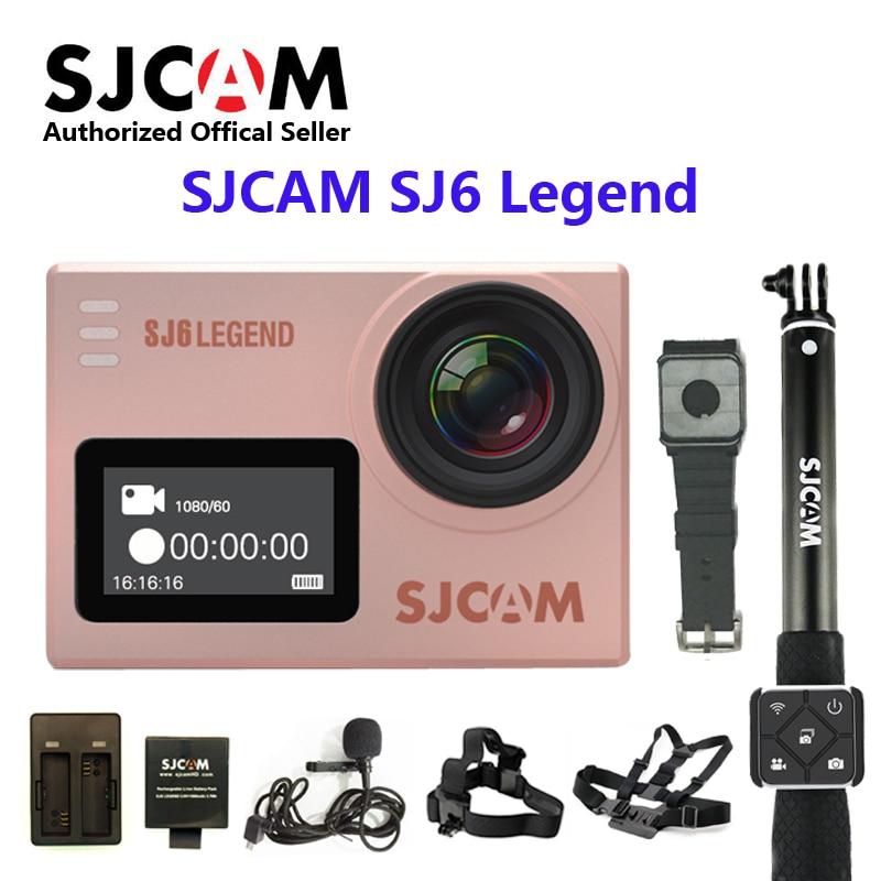 "Original SJCAM SJ6 leyenda WiFi 4K 24fps Ultra HD Notavek 96660 impermeable de la acción de la Cámara 2 ""Touch Pantalla remota deporte"