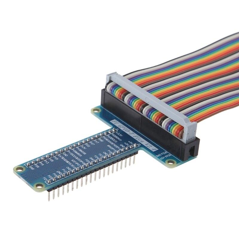 40 Pin удлинительная плата адаптер 40-Pin GPIO кабель для Raspberry Pi 3 2 Модель B +