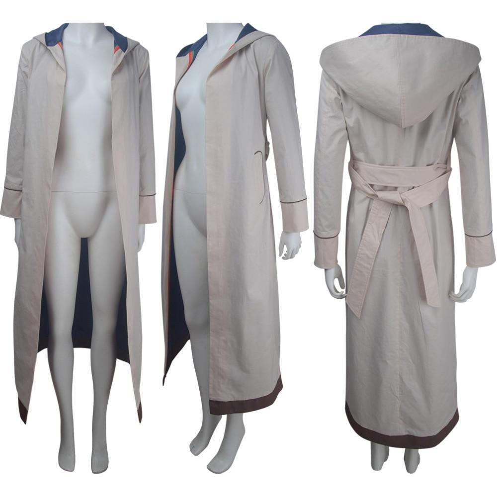 13th Doctor cosplay chaqueta de Doctor traje capa de Halloween disfraz Xmas Navidad cumpleaños regalo del Día de San Valentín