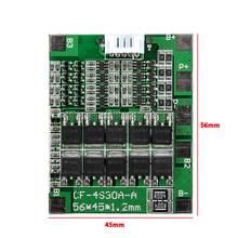 2 pièces 4 S 30A 14.8 V Li-ion Lithium 18650 batterie BMS Packs carte de Protection PCB Balance Modules conseils nouveau vente en gros